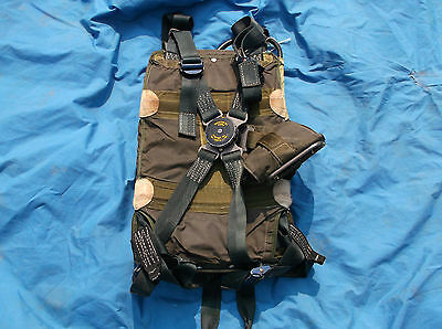 raf parachute mk 42 1980s back  type complete with canopy