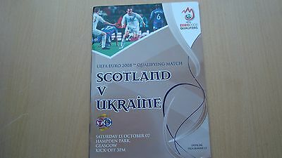 Scotland V Ukraine Oct 2007