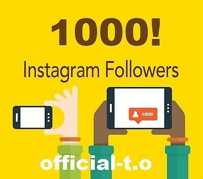 1K Instagram-Followers or 3K Post-Likes | Ultra Quality Safe | official-t.o