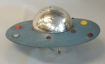 Vintage Astro Berzac Mini Solar System Spinaround PLAN-IT Mechanical Bank