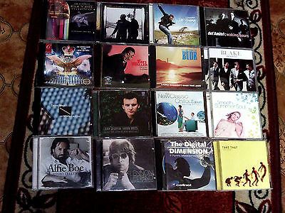 16 MUSIC CD's MOSTLY MALE SINGERS AND GROUPS, PLEASE SEE ALL PICTURES