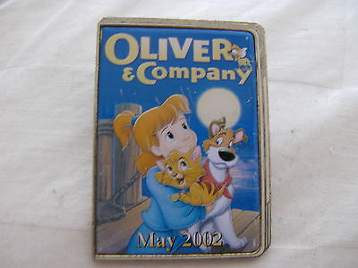 Disney Trading Pins 11542 12 Months of Magic - DVD Case (Oliver and Company)
