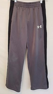 UNDER ARMOUR training workout pants youth large  24Wx27L gray -25