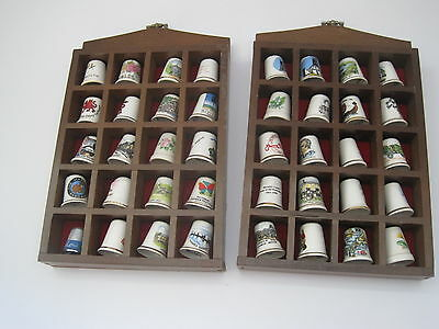 Thimble collection 164 of them