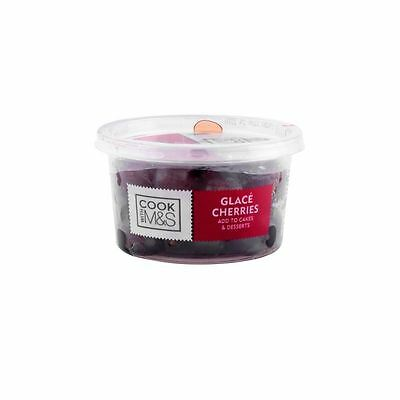 Marks & Spencer Glace Cherries 200g