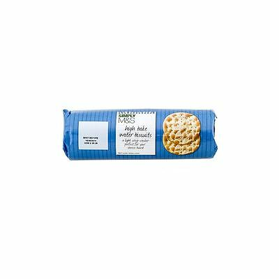 Marks & Spencer High Bake Water Biscuits 200g