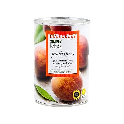 Marks & Spencer Peach Slices 420g