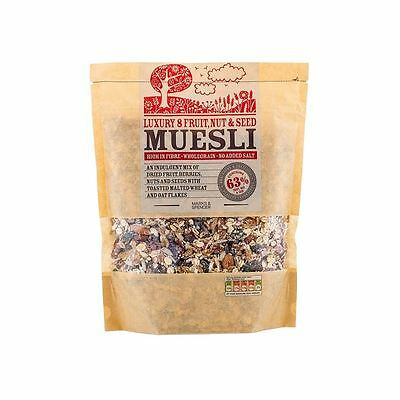 Marks & Spencer Luxury 8 Fruit, Nut & Seed Muesli 600g