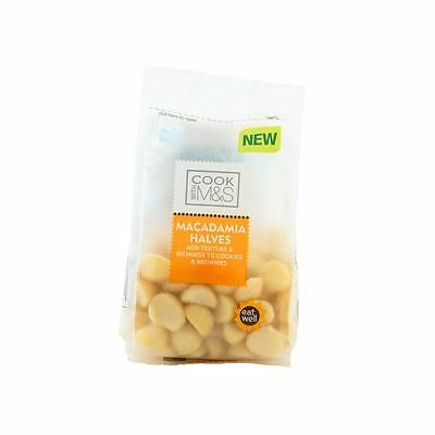 Marks & Spencer Macademia Halves 100g