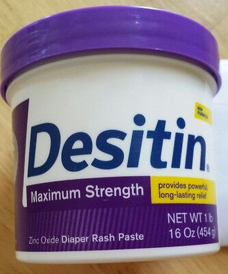 Desitin Diaper Rash Maximum Strength Original Paste 16 oz NOT Sealed