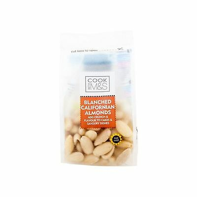 Marks & Spencer Blanched Californian Almonds 100g