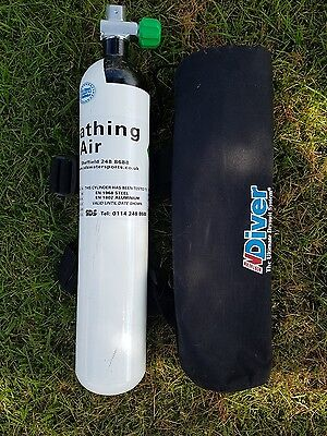 SCUBA DIVING PONY CYLINDER  3 LTR With cover