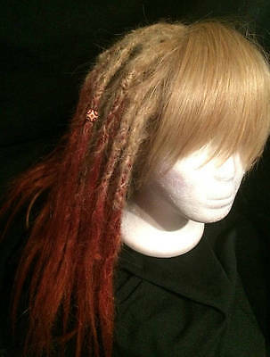 human hair dreadlock wig