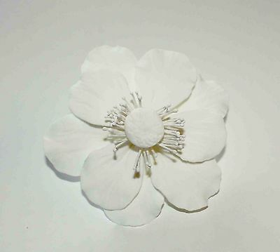 POPPY ANEMONE Sugar Flower, Cake Topper Wedding Celebration Cakes, Decoration.