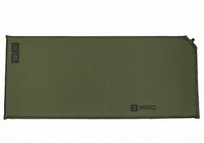 BASE S SELF INFLATE MAT air bed airbed lightweight thermalite olive inflating