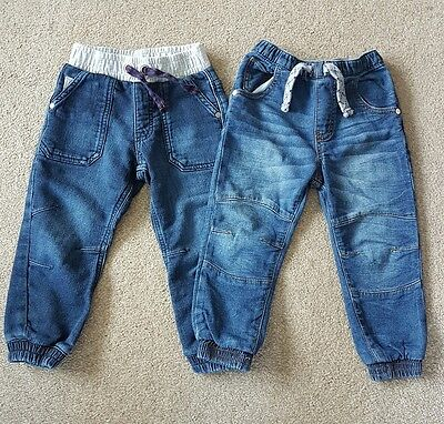 Boys jeans - 2-3 years - bundle of 2 pairs - blue - great condition