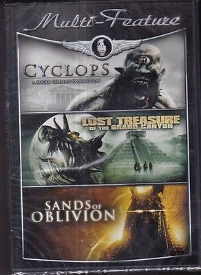 Multi Feature DVD Wholesale.Cyclops,Sands of Oblivion,Lost Treasure 30 copies