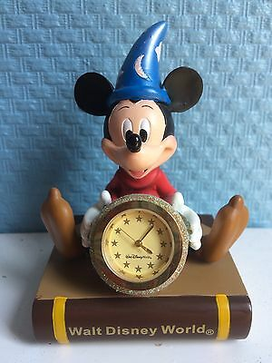 Very Good Condition Collectible Working Walt Disney World Mickey Mouse Clock
