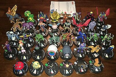 Heroclix Yu-Gi-Oh Collection Super Rare CUR Lot Series 1 2 3 38 Figures