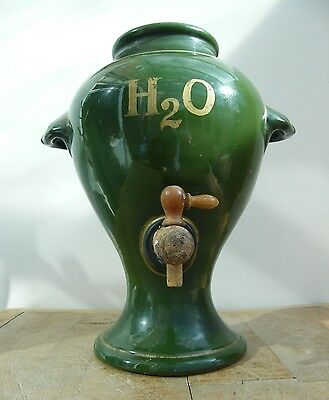 A Large Antique Pharmecy Chemist Shop Apothecary Dispensing Jar Urn Pot