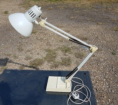 Industrial Vintage 1960s Anglepoise Desk Lamp. Office Reading Light . Working