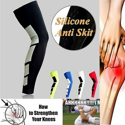 1PC Compression Knee High Support Stockings Long Leg Sleeve Gear Sport Protector