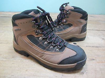 Mens Cotton Traders Brown Waterproof Walking Hiking Outdoor Boots Size 8