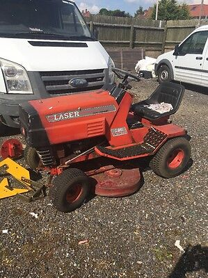 Spares Or Repairs Laser Petrol Ride On Lawn Mower With Kawasaki Engine
