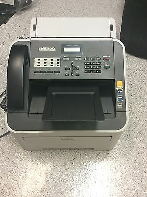 Brother FAX-2840 IntelliFAX High-Speed Laser Fax Machine - BARELY USED