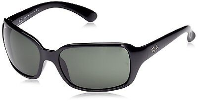 Ray-Ban RB4068 601 Black Frame Green Classic 60mm Lens Sunglasses