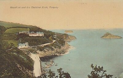 Postcard - Torquay - Meadfoot and the Thatcher Rock
