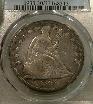 1846-O Seated Liberty Dollar PCGS VF30 $1 Good Date New Orleans