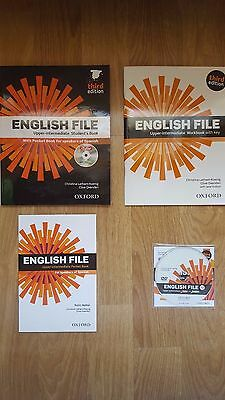 English File Upper-Intermediate Student´s Book With Pocket Book And Dvd.
