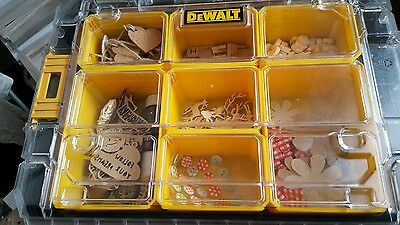 Large joblot of Crafting items, craft box and 3D box frames