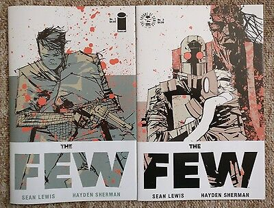 The Few #1 & #2 Cover A Set 1st Prints Sean Lewis Hayden Sherman Image NM Rare