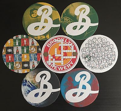 Brooklyn Brewery Beermats (x7)