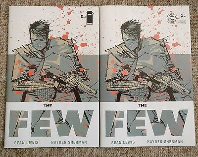 The Few #1 1st and 2nd Prints Set Sean Lewis Hayden Sherman Image NM Rare
