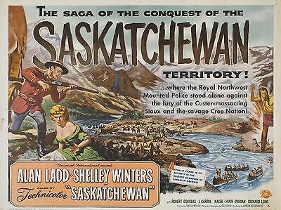 "saskatchewan 16"" x 12"" Reproduction Movie Poster Photograph"