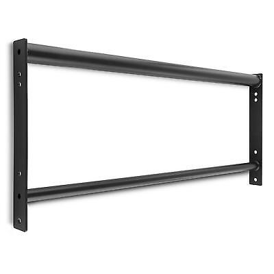 Pull Up Bar Chin Up Home Gym Fitness Metal Two Grip Firm Muscle Excercise Rack