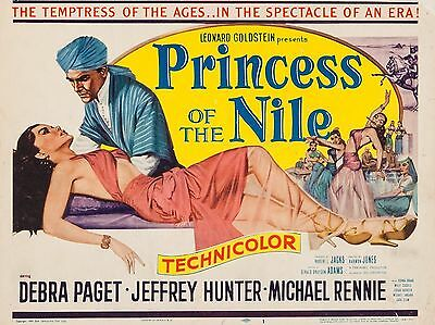 "Princess of the Nile 16"" x 12"" Reproduction Movie Poster Photograph"