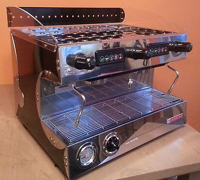 Reconditioned Sanremo Capri 2 Group Espresso Coffee Machine inc grinder