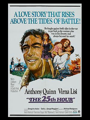 """The 25TH Hour 16"""" x 12"""" Reproduction Movie Poster Photograph"""