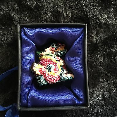 Cochin Dragon Pendant Necklace Charm Year Of The Dragon