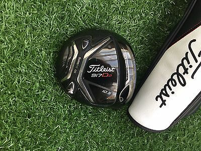 Titleist 917 D2 10.5 Degree Driver Head And Headcover 9/10 Very Nice