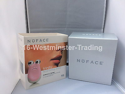 Nuface Trinity Facial Toning Device , PINK, Free Post, look younger?