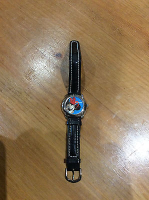 Disneyland Paris Mickey Mouse Disney Watch Leather Strap
