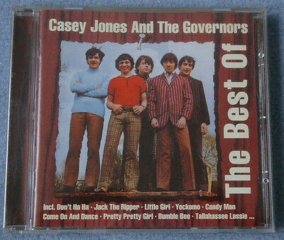 CD  The Best Of Casey Jones & The Governors