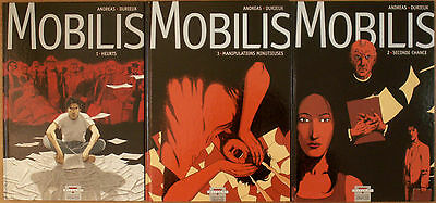 Andreas & Durieux - Mobilis T1,2&3 Eo - Serie Complete - Delcourt - Tbe