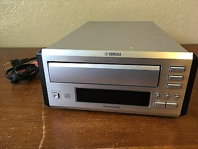 Yamaha CDC-E500 Natural Sound 3 Disc CD Player for Compact Stereo System Mini