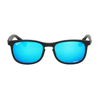 Ray Ban Chromance Nylon Frame Blue Lens Sunglasses RB4263